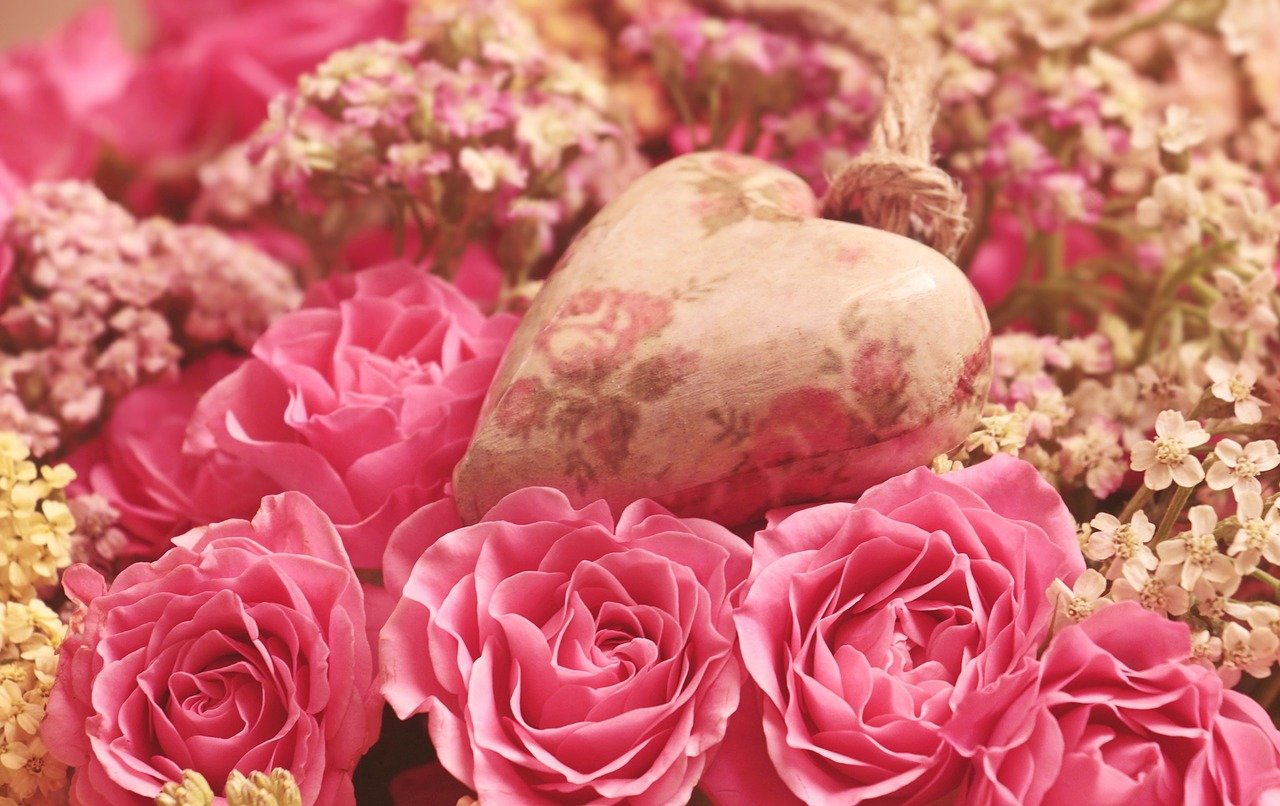Roses Heart Noble Roses Romantic  - pixel2013 / Pixabay